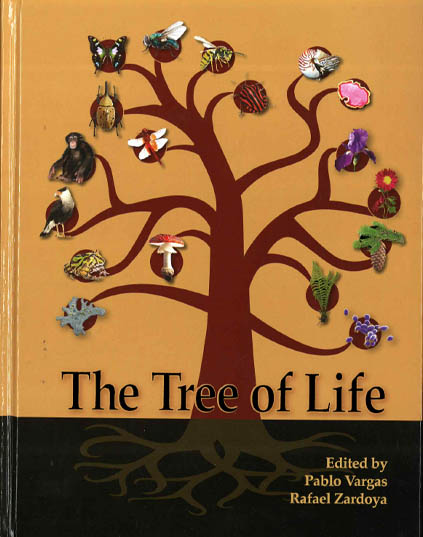 Cover illustration of the book THE TREE OF LIFE representing life across global boundaries