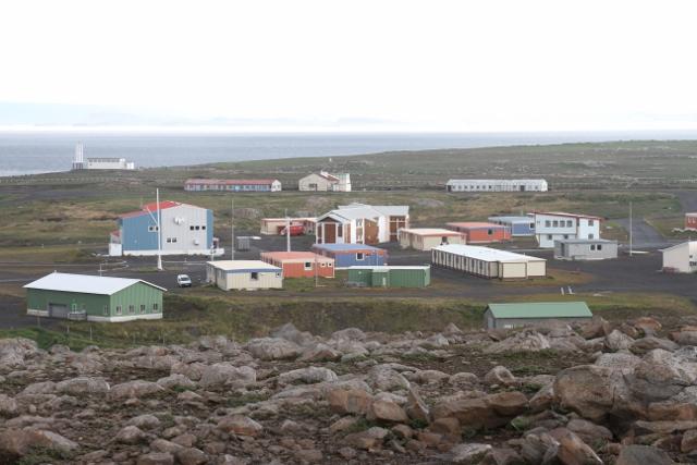 Forkningsstasjonen Port Aux Francais på Kerguelen Island