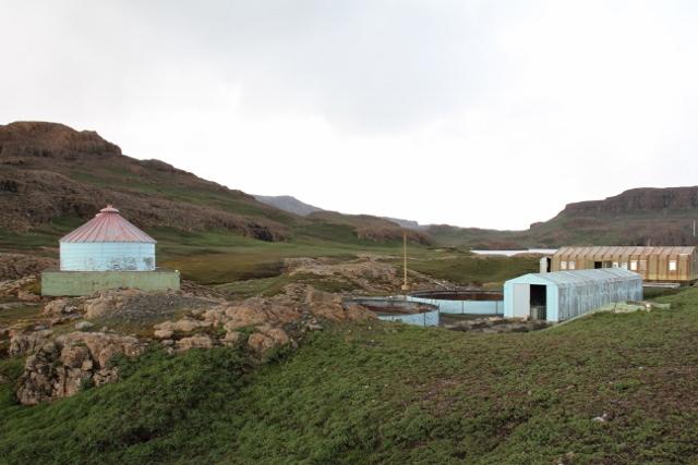 Amor, hvor det tidligere ble gjort forsøk på komersielt fiskeoppdrett.