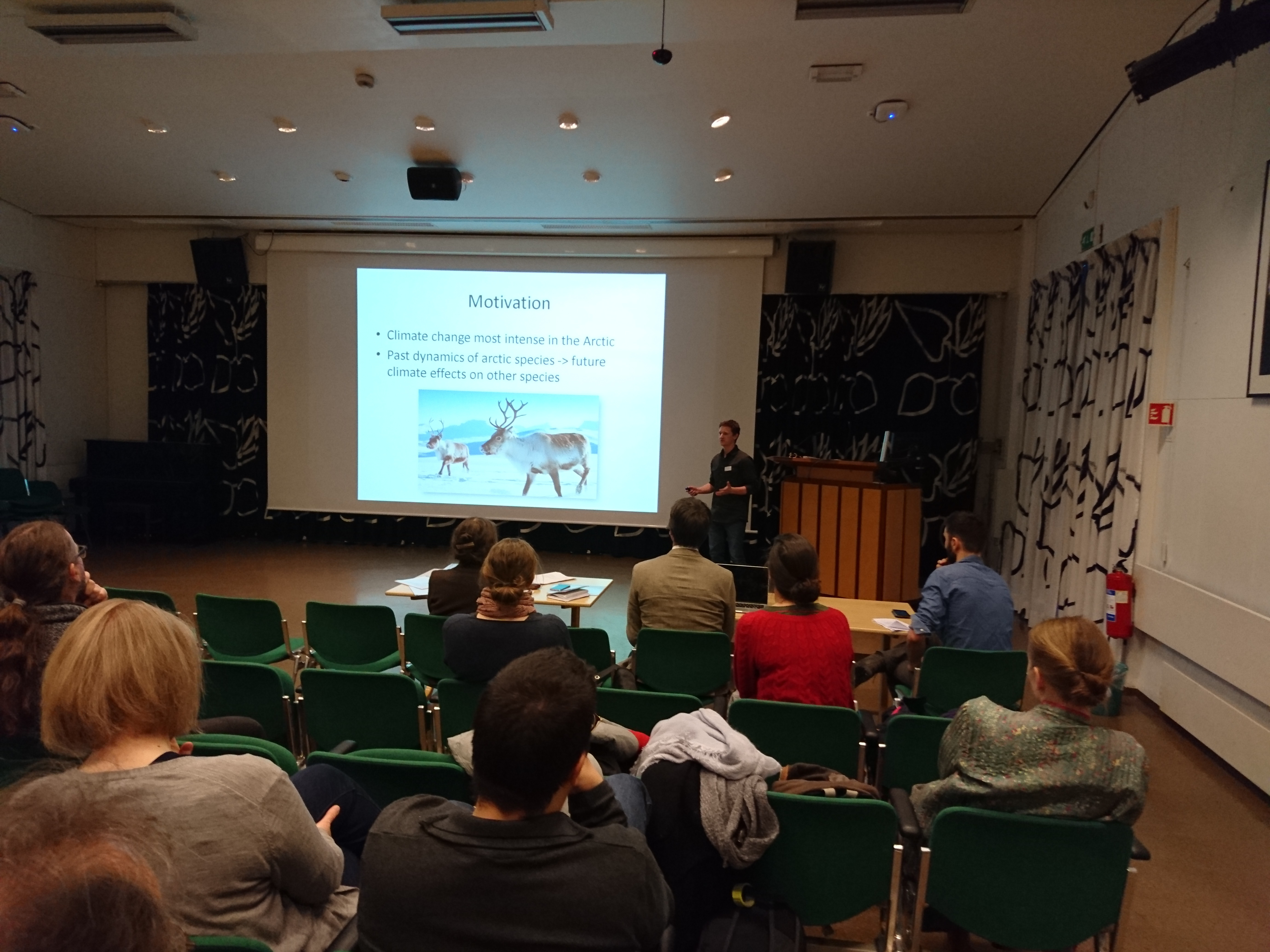 Mike Martin presents his work at ForBio 2018