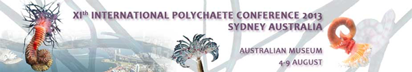 Logo of the 11th International Polychaete Conference