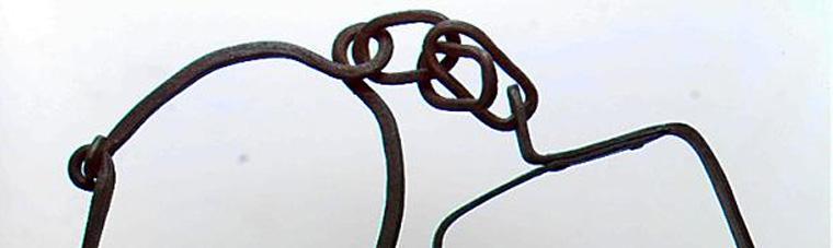 Gabestoklænke af jern