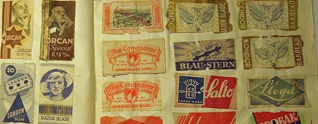 """I min generasjon – jeg er født i 1931 – samlet de fleste gutter jeg kjente på frimerker. Noen av oss samlet også på sigarettmerker, klippet forsiden av esker vi <a href=""""https://blogg.vm.ntnu.no/sansogsamling/2012/10/22/barberblader/#more-'"""" class=""""more-link"""">more »</a>"""